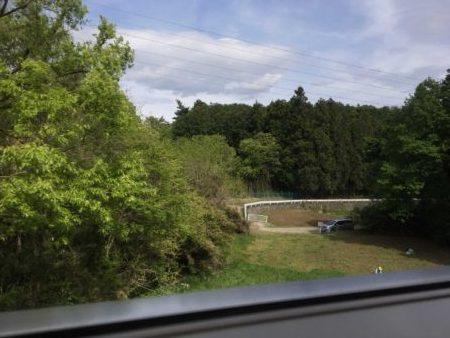 JR八高線車窓からの景色